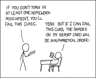 Priorities by xkcd