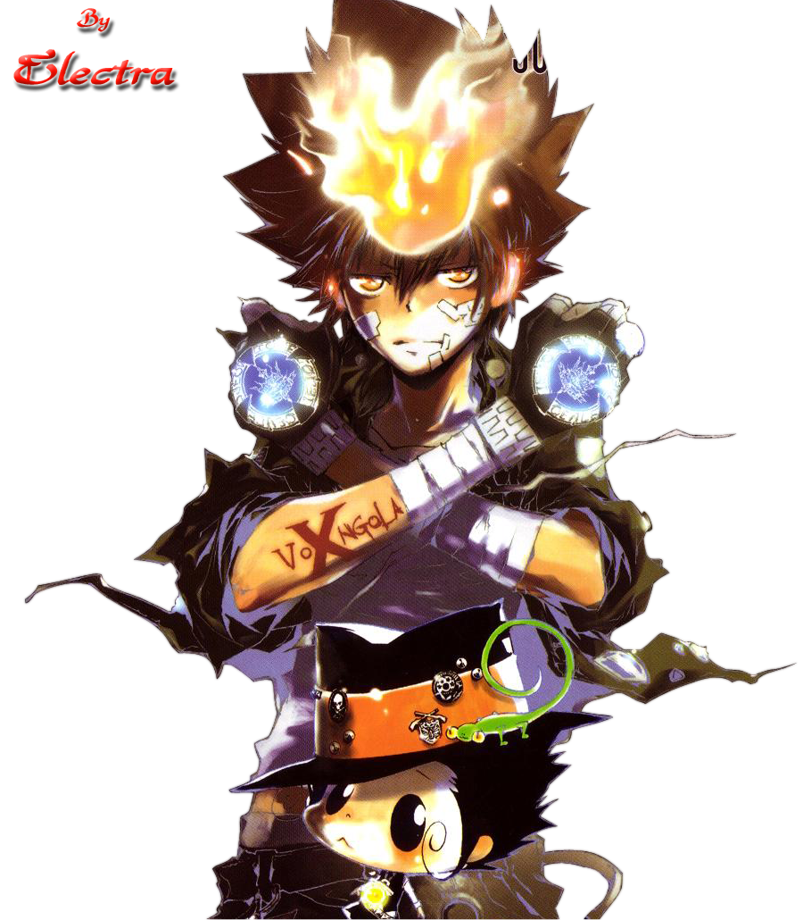 Tsuna and Reborn by Electra