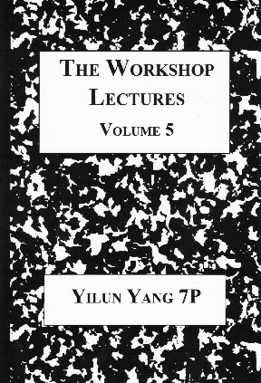 The Workshop Lectures Volume 5 Cover